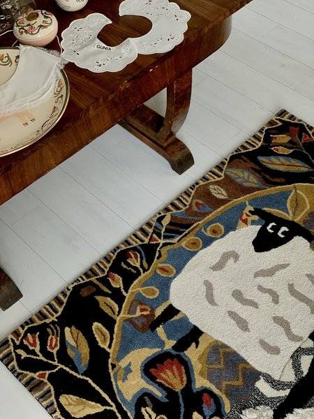 Gunia project handmade woven carpet