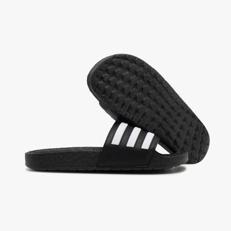 adidas Adilette Boost Slides - Black/White