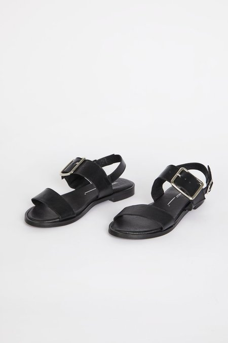"""""""INTENTIONALLY __________."""" MAX sandals - Black"""