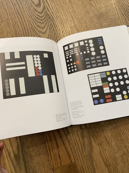"""MOMA """"Sophie Taeuber-Arp: Living Abstraction"""" Book"""