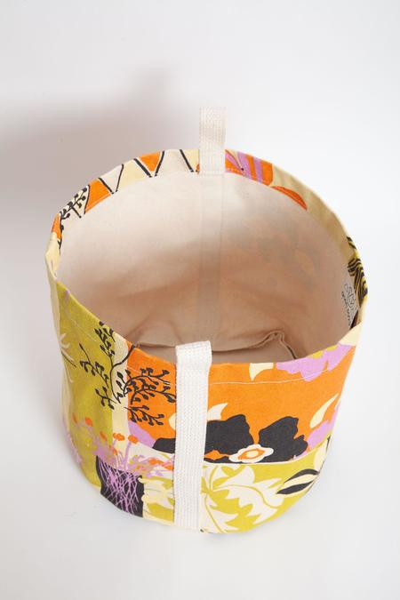 Gravel & Gold Canvas Bucket - Extra Ornament