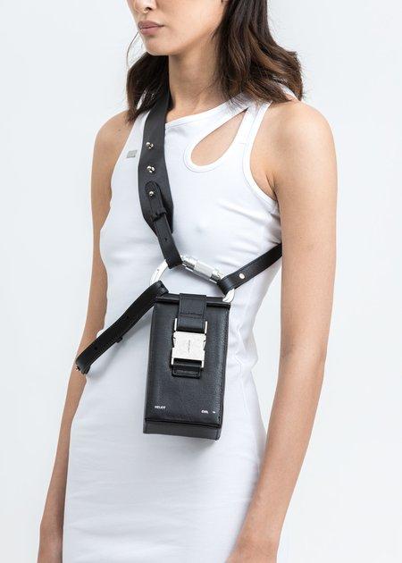 Heliot Emil Carabiner Phone Sling bag - Black