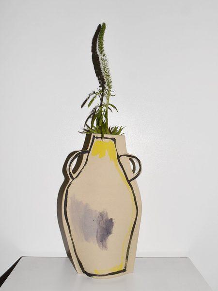 Alison Owen Big Vase With Two Handles