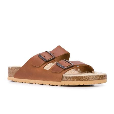 Birkenstock Arizona Teddy Shearling Sandals