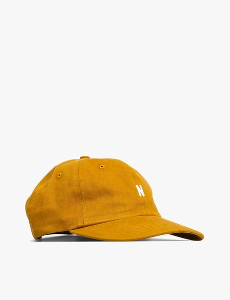 Norse Projects Twill Sports Cap - Yellow