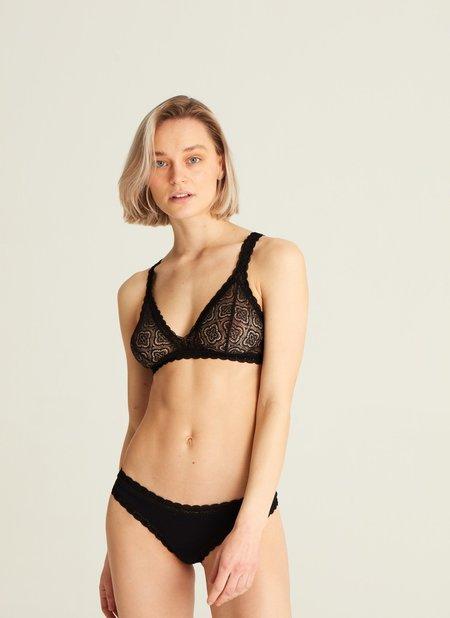 Woron Lace soft bra - venus black