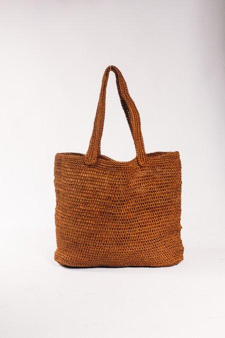 Territory Fiber Tote Bag - Rust