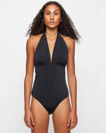 Just Female Pam Tie Swimsuit - Black