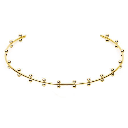 Amber Sceats The 'Quinn' Gold Plated Choker