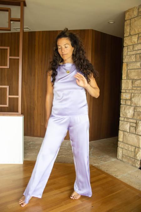 Baserange Mir Pants - Laguna Purple