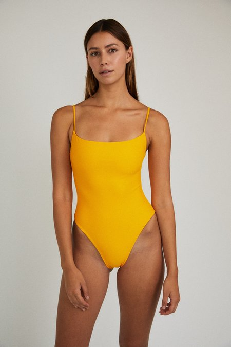 The Saltwater Collective Paulina One Piece - Citrus