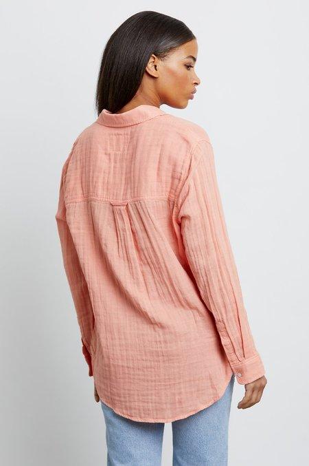 Rails Ellis Shirt - Peach