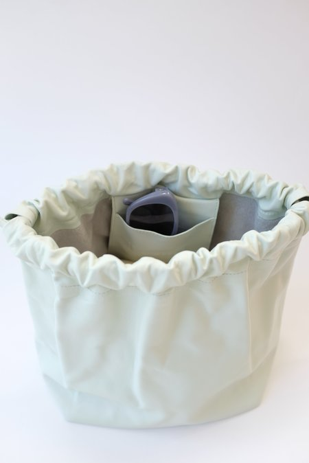 Beklina Marni Drawstring Bag - Pastel Swamp
