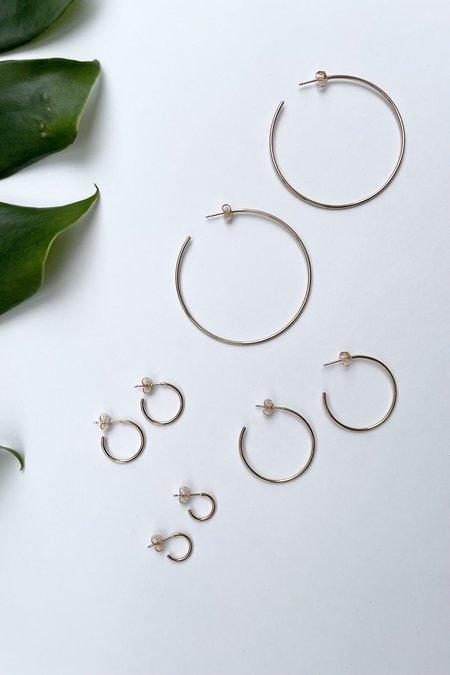 The Minimalist Magnolia Tiny Everyday Hoops