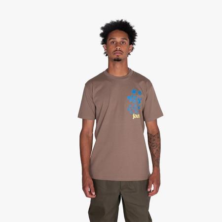 JAM Spiral Path T-shirt - Coffee