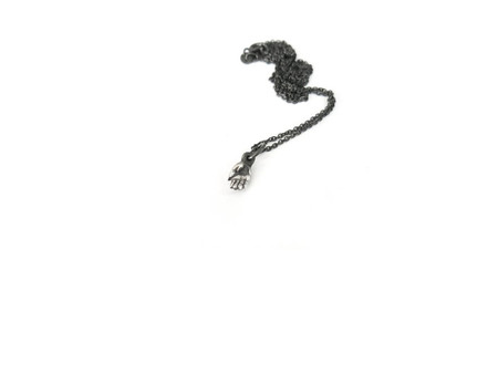 Elaine Ho Talisman Tiny Hand Pendant