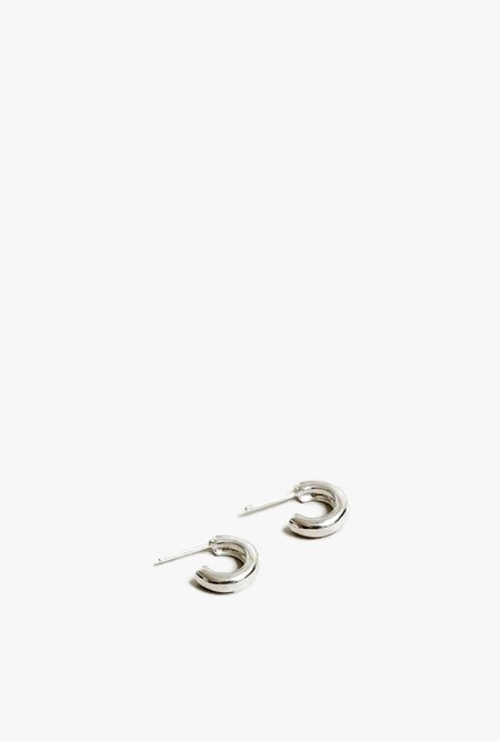 Wolf Circus Abbie Small Hoops - Silver