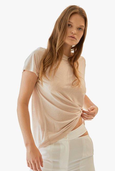Maison De Ines Basic Round Neck T-Shirt
