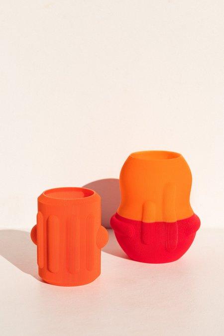 UAU Project Eggplant Vase - Orange