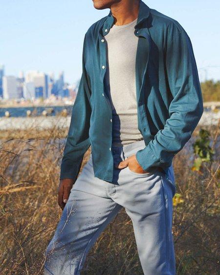 Alex Crane Blanket Shirt - Dusk