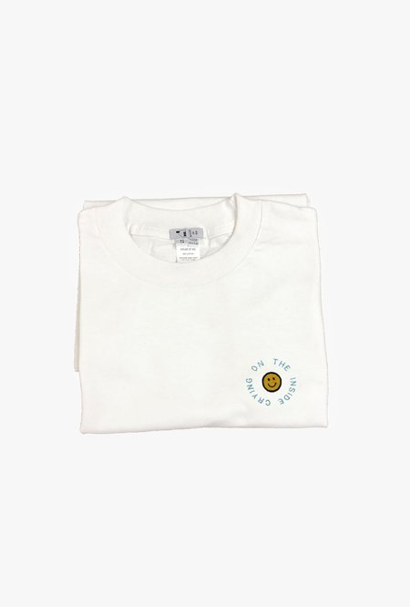 House of 950 Crying on the Inside T-Shirt - white