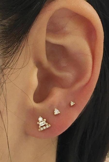 Jennie Kwon Designs Diamond Dot Stud