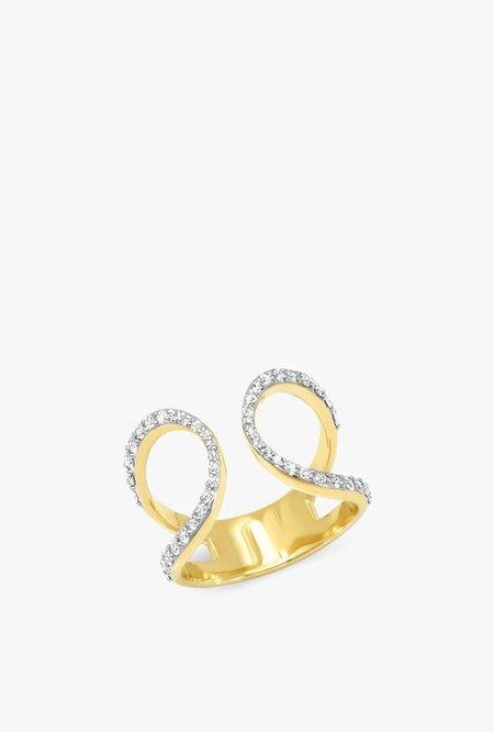 Eriness Diamond Loop Ring