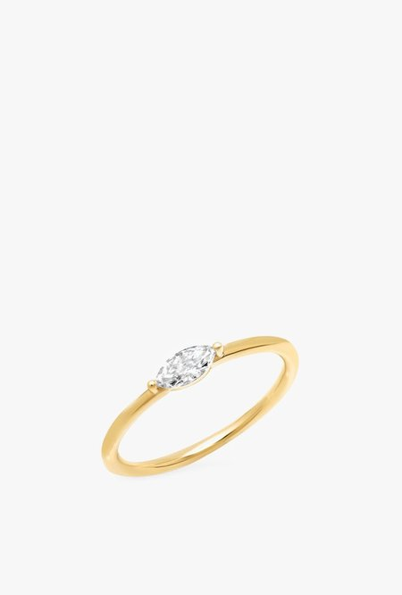 Eriness Diamond Marquise Ring