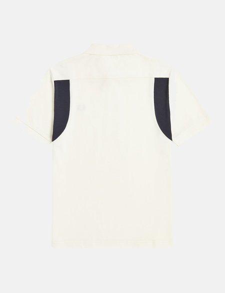 Fred Perry Reissues Contrast Rib Polo Shirt - Ecru
