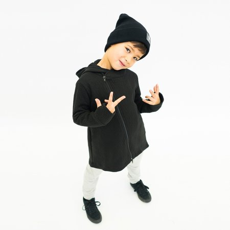 Kids Bash + Sass Hi-Lo Quilted Hoodie