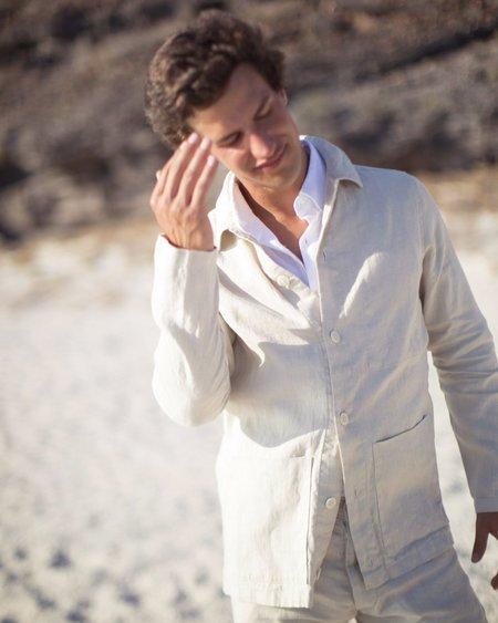 Alex Crane Kite Jacket - Bone