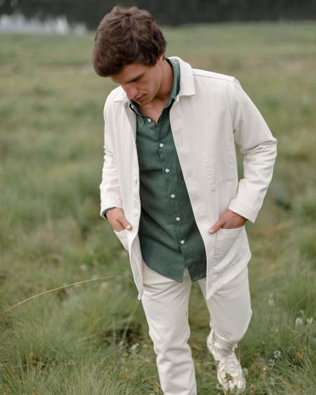 Alex Crane Kite Jacket - Salt