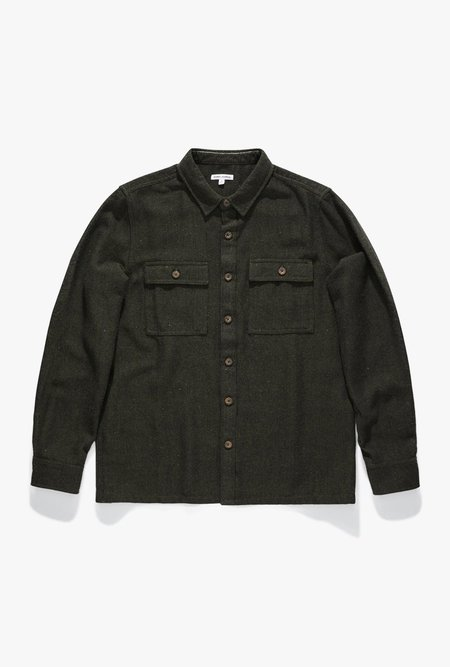 Banks Journal Oblivious L/S Shirt - Utility Green