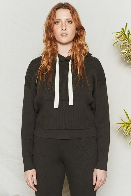 Back Beat Co. Organic Cotton Surf Hoodie sweater - Graphite