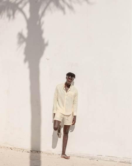 Alex Crane Playa Shirt - Cream