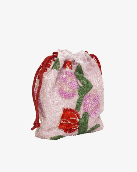 HVISK Tulip Pouch bag - Bead Light Pink