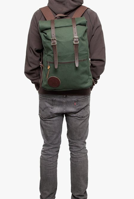 Duluth Pack Roll-Top Scout WAX Backpack