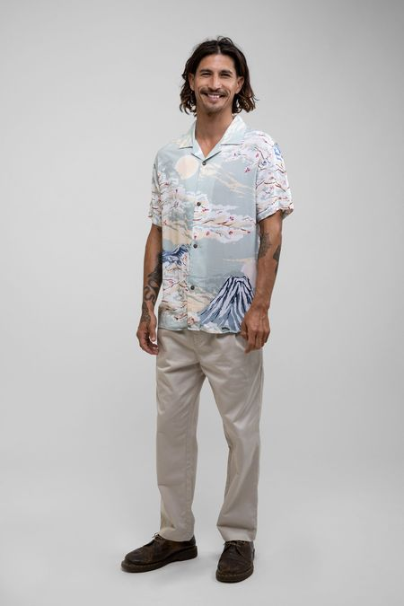 Rhythm Trade Winds Cuban S/S Shirt - Print