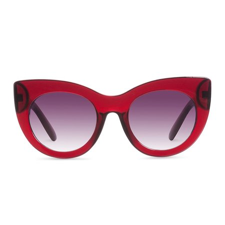 Reality Eyewear Wild + Free Sunglasses - Deep Red