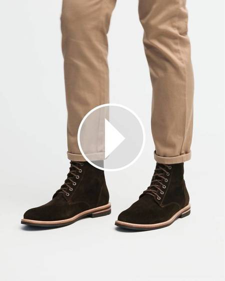 Nisolo Andres All Weather Boot - Dark Olive