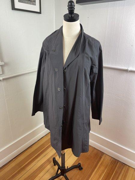 Pre-loved Eileen Fisher Grey Jacket - grey