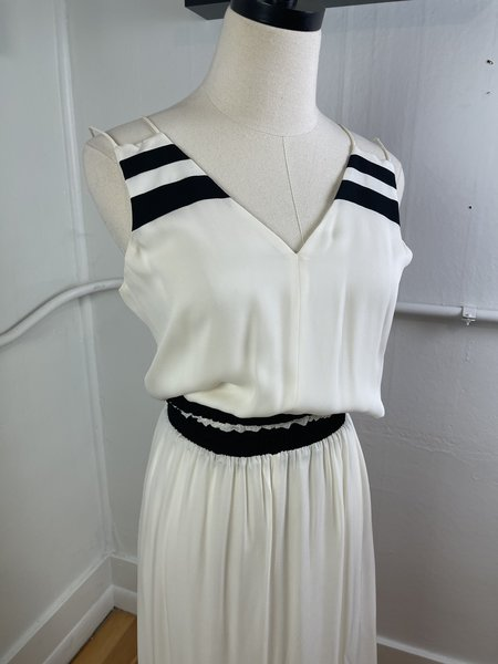 Pre-loved Parker Dress - Cream/Black