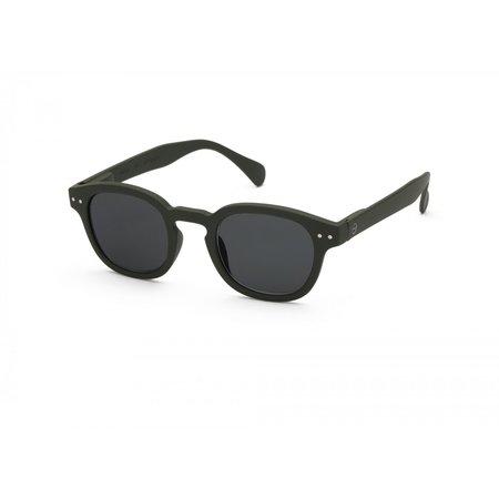 UNISEX Izipizi C Sunglasses - Khaki Green