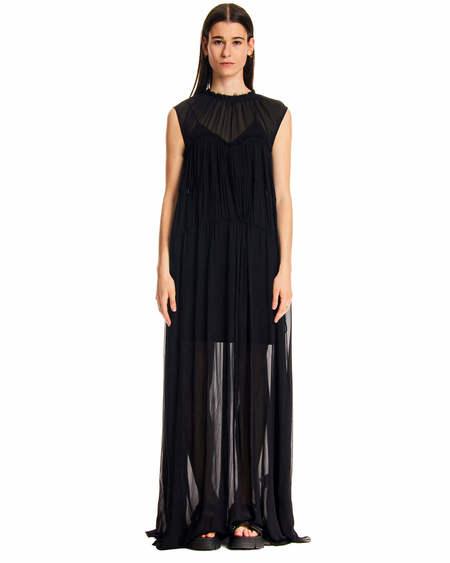 MSGM Laces Dress - Black
