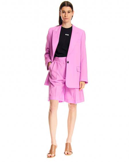 MSGM Sartorial Blazer - Pink
