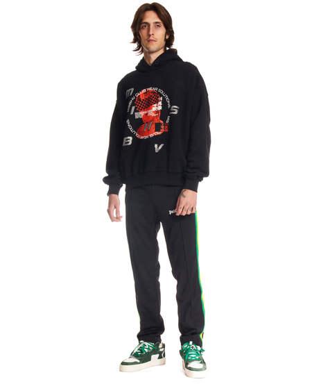 MISBHV ^rint Hoodie sweater - black