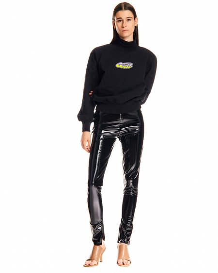 GCDS Painted Effect Leggings - black