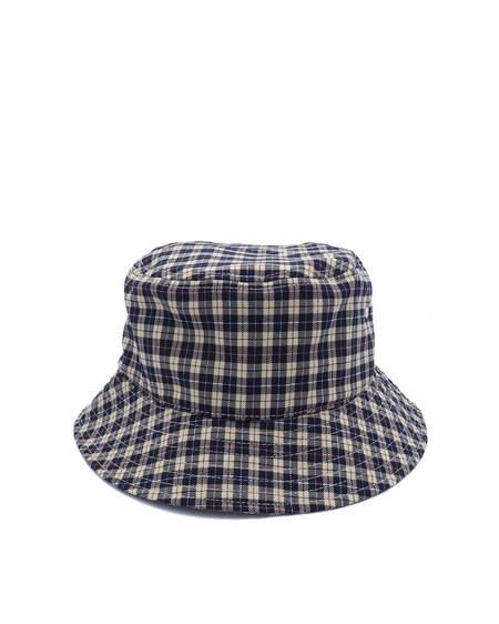Stüssy Tartan Pattern Hat - Blue