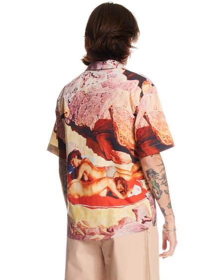 MSGM Print Shirt - Multicolor