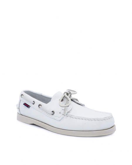 SEBAGO Portland Moccasin - White